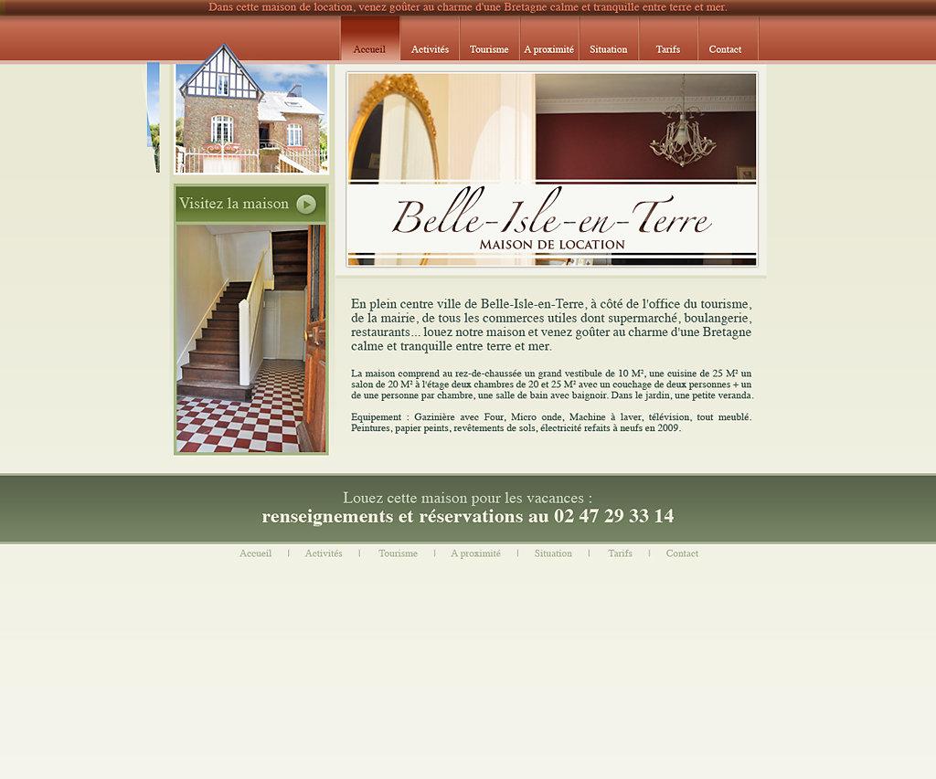 Site Internet belleisle-bretagne.com
