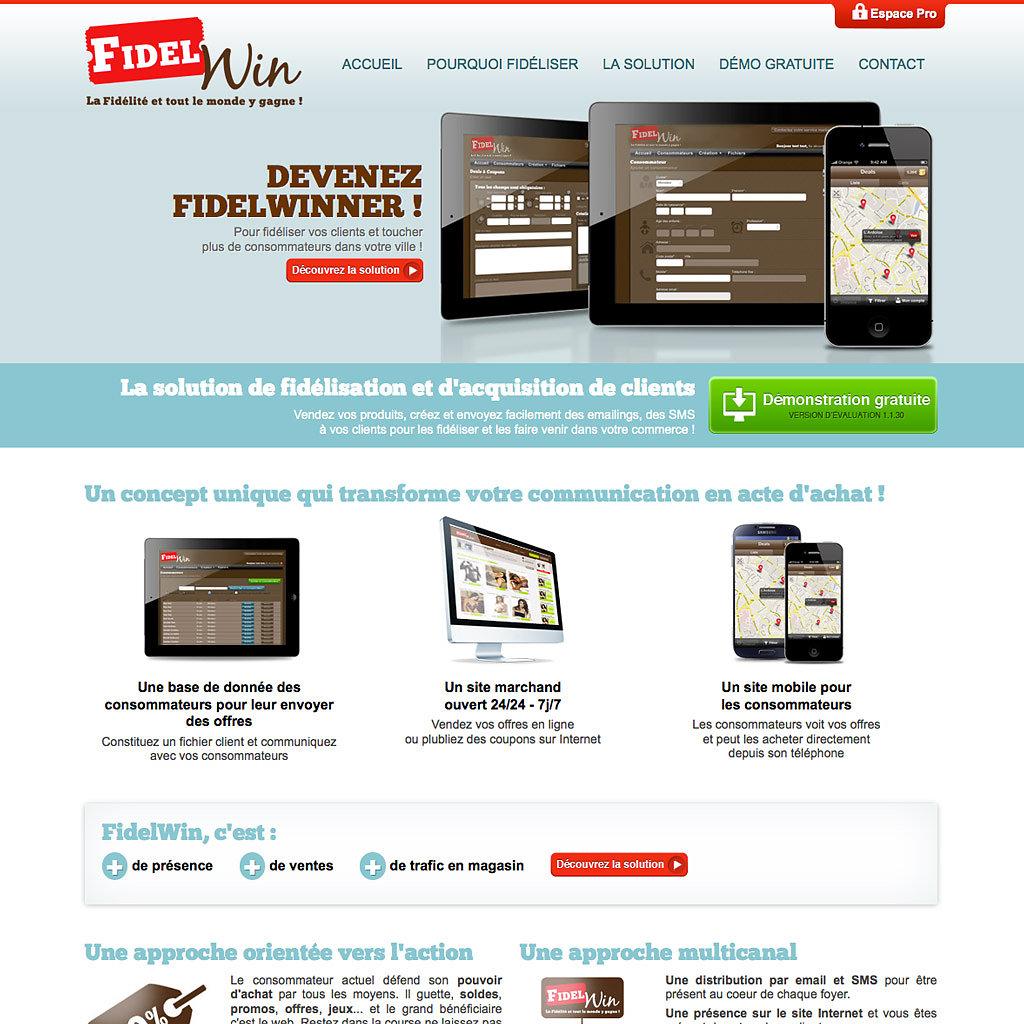 Site corporate FidelWin.com