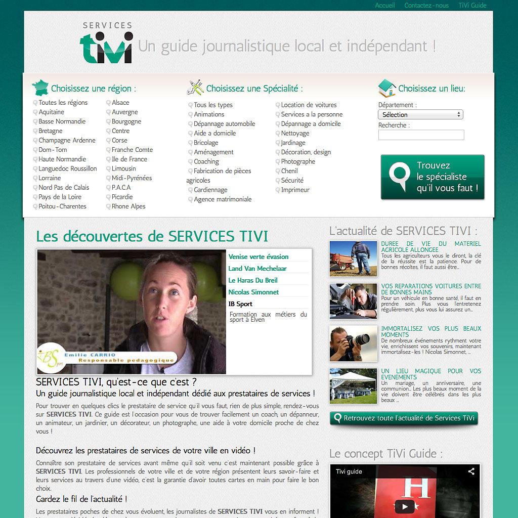 Portail Internet services-tivi.com